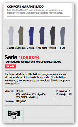 Ficha pantalon 103002S