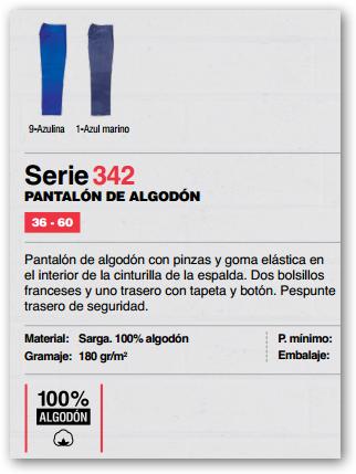 Ficha pantalon 342