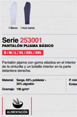 Ficha pantalon V253001