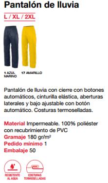 Ficha pantalon lluvia v 188