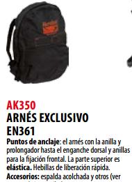 Ficha arnes s AK350