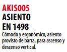 Ficha asiento s AKIS005