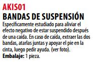 Ficha bandas de suspension s AKIS01