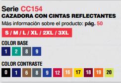 Ficha cazadora CC154