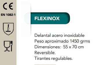 Ficha delantal Flexinox