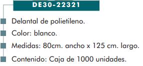 Ficha delantal cp 22321