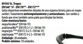 Ficha gafa s 09103