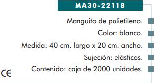 Ficha manguito cp 22118