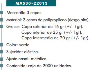 Ficha mascarilla cp 22013