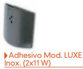 Adhesivo matainsectos Luxe Inox