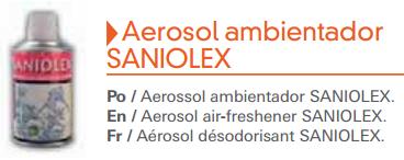 Aerosol ambientador