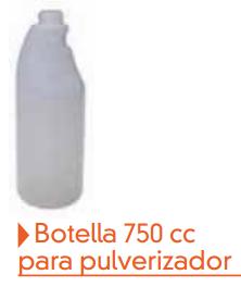 Botella 750 cc para pulverizador