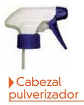 Cabezal pulverizador