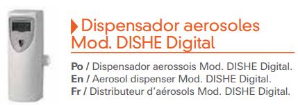 Dispensador aerosoles Digital