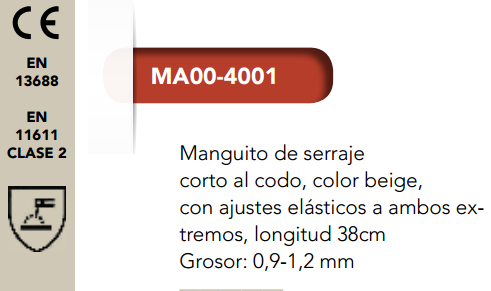 Ficha manguito 4001