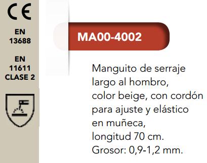 Ficha manguito 4002