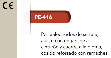 Ficha porta electrodos 416