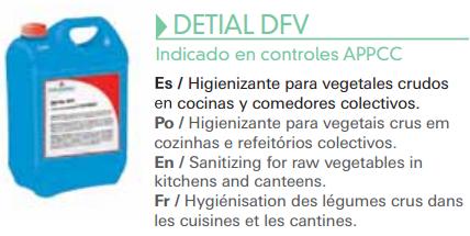Higienizante para vegetales