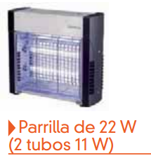 Parrilla 22w matainsectos
